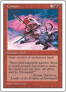 Magic the Gathering Fifth Edition Single Card Uncommon Conquer