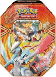 Pokemon Black & White Spring 2013 Legendary Tin White Kyurem-EX