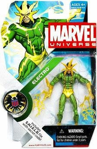 Marvel Universe 3 3/4 Inch Series 5 Action Figure #25 Electro
