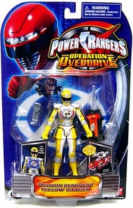Power Rangers Operation Overdrive Action Figure Mission Response Yellow Ranger