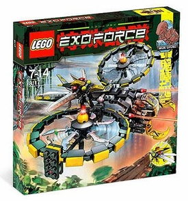 LEGO Exo Force Set #8117 Storm Lasher