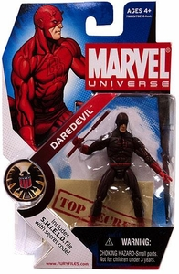 Marvel Universe 3 3/4 Inch Series 2 Action Figure #8 Daredevil [Dark Red Costume Variant]