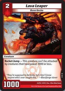Kaijudo Evo Fury Single Card Rare #43 Lava Leaper