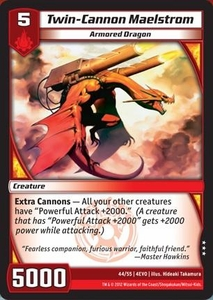 Kaijudo Evo Fury Single Card Rare #44 Twin-Cannon Maelstrom