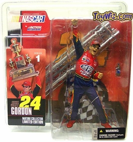 McFarlane Toys NASCAR Series 1 Action Figure Jeff Gordon BLOWOUT SALE!