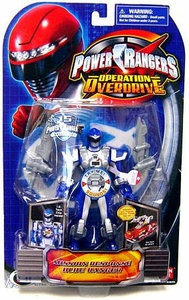 Power Rangers Operation Overdrive Action Figure Mission Response Blue Ranger