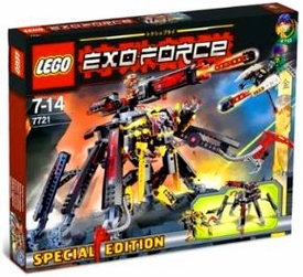 LEGO Exo Force Set #7721 Combat Crawler