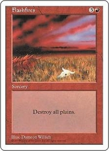 Magic the Gathering Fifth Edition Single Card Uncommon Flashfires
