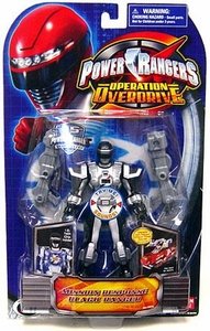 Power Rangers Operation Overdrive Action Figure Mission Response Black Ranger