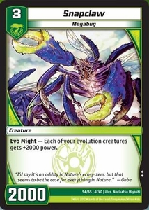 Kaijudo Evo Fury Single Card Uncommon #54 Snapclaw
