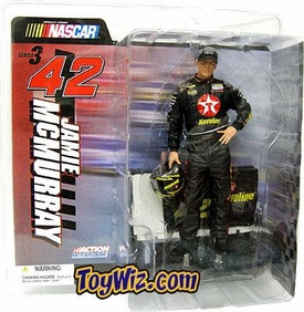 McFarlane Toys NASCAR Series 3 Action Figure  Jamie McMurray No-Glasses V Variant
