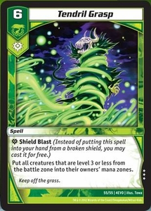 Kaijudo Evo Fury Single Card Rare #55 Tendril Grasp