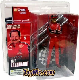 McFarlane Toys NASCAR Series 2 Limited Edition Action Figure Dale Earnhardt with Sunglasses
