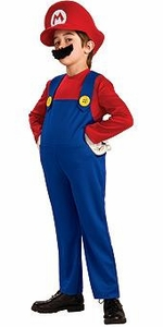 Super Mario Rubies Costume #883655 Mario [Child]