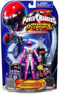 Power Rangers Operation Overdrive Action Figure Mission Response Pink Ranger Hard to Find!