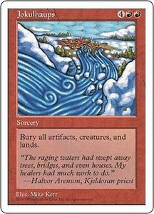 Magic the Gathering Fifth Edition Single Card Rare Jokulhaups