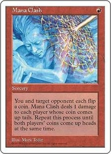 Magic the Gathering Fifth Edition Single Card Rare Mana Clash
