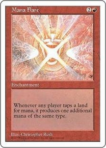 Magic the Gathering Fifth Edition Single Card Rare Mana Flare