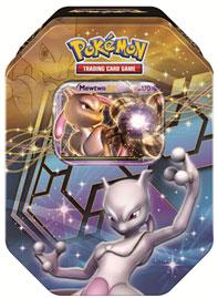 Pokemon Black & White Fall 2012 Legendary EX Tin Mewtwo
