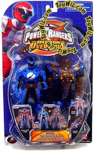 Power Rangers Operation Overdrive Action Figure Blue Sentinel Zord Ranger