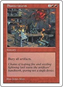 Magic the Gathering Fifth Edition Single Card Uncommon Shatterstorm