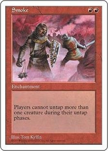 Magic the Gathering Fifth Edition Single Card Rare Smoke
