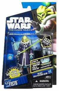 Star Wars 2011 Clone Wars Action Figure CW No. 60 Kit Fisto [Cold Weather Gear]