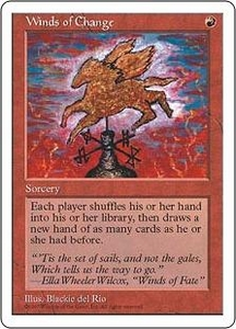 Magic the Gathering Fifth Edition Single Card Rare Winds of Change