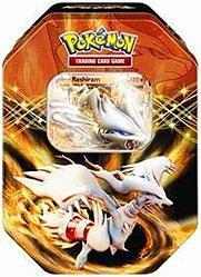 Pokemon Black & White Spring 2012 EX Collector's Tin Reshiram