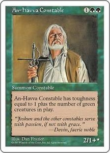 Magic the Gathering Fifth Edition Single Card Rare An-Havva Constable
