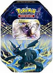 Pokemon Black & White Spring 2012 EX Collector's Tin Zekrom