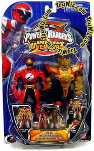 Power Rangers Operation Overdrive Action Figure Red Sentinel Zord Ranger