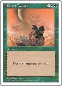 Magic the Gathering Fifth Edition Single Card Uncommon Desert Twister