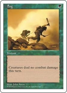 Magic the Gathering Fifth Edition Single Card Common Fog
