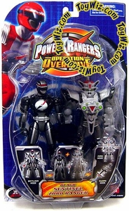 Power Rangers Operation Overdrive Action Figure Black Sentinel Zord Ranger