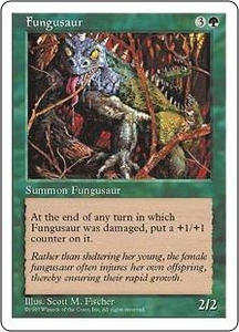 Magic the Gathering Fifth Edition Single Card Rare Fungusaur