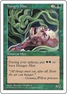 Magic the Gathering Fifth Edition Single Card Common Hungry Mist