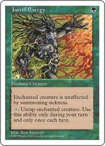 Magic the Gathering Fifth Edition Single Card Uncommon Instill Energy