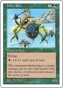 Magic the Gathering Fifth Edition Single Card Uncommon Killer Bees