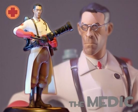 Team Fortress Gaming Heads Limited Edition 13 Inch Statue Red Medic