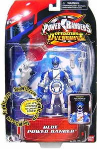 Power Rangers Operation Overdrive Action Figure Blue Ranger
