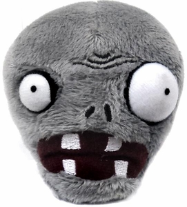Plants vs Zombies PAX Exclusive 4 Inch Mini Plush Zombie Head