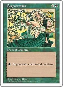 Magic the Gathering Fifth Edition Single Card Common Regeneration
