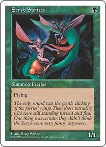 Magic the Gathering Fifth Edition Single Card Common Scryb Sprites