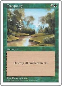 Magic the Gathering Fifth Edition Single Card Common Tranquility