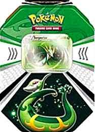 Pokemon Black & White Fall 2011 Evolved Battle Action Tin Serperior