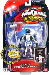 Power Rangers Operation Overdrive Action Figure Black Ranger