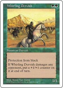 Magic the Gathering Fifth Edition Single Card Uncommon Whirling Dervish