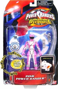 Power Rangers Operation Overdrive Action Figure Pink Ranger