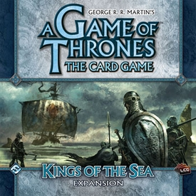 A Game of Thrones: Kings of the Sea Fantasy Flight LCG Living Card Game Expansion